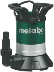 METABO TP 6600 250660000  Čerpadlo ponorné-Ponorné čerpadlo na čistou vodu 6600L/h 250W Metabo TP 6600
