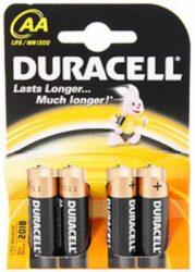 DURACELL LR6/4 AA Baterie ALKALINE Basic (4ks/bal)