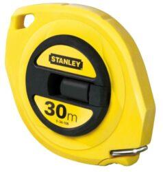 STANLEY 0-34-105 Pásmo 20m ABS uzavřené-Pásmo uzavřené s ocelovou páskou