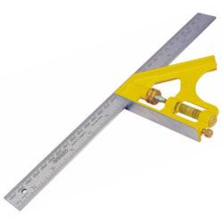 STANLEY 2-46-028 Úhelník multifunkční 300mm-Kovový multifunkční úhelník
