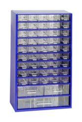 MARS 6744 Skříňka na nářadí 45M modrá-Skříňka na nářadí 45M modrá