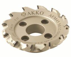 Fréza AFM45-SE12-D80-A27-Z06-H AKKO-Fréza nástrčná čelní 45° AKKO MAKINA -typ AFM45 SE..12T3 pr. 80mm, Z 6