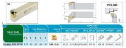 Nůž PCLNR 2525 M 12 C AKKO-Soustružnický držák VBD PCLNR 2525 M 12 C