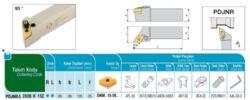 Nůž PDJNR 2020 K 15 C AKKO-Soustružnický držák VBD PDJNR 2020 K 15 C