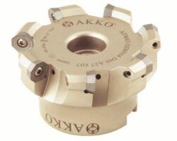 Fréza AFM43-OD0504-D80-A27-Z07-H  AKKO-Fréza nástrčná čelní 43° AKKO MAKINA typ AFM63 OD..0504 pr. 80mm, Z 7