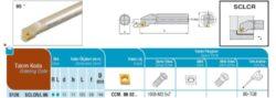 Nůž S12K SCLCR 06 AKKO-Soustružnický držák VBD S12K SCLCR 06