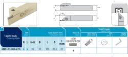 Nůž ADKT-I-R-2020-4-T20 AKKO