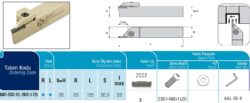 Nůž ADKT-ZCC2-R-2020-3-T20 AKKO-Zapichovací nůž pravý 3mm, AKKO ADKT-ZCC2-R-2020-3-T20