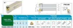Nůž PWLNR 2020 K 08 C AKKO-Soustružnický držák VBD PWLNR 2020 K 08 C
