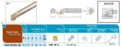 Nůž S20R SCFCR 09 AKKO-Soustružnický držák VBD S20R SCFCR 09