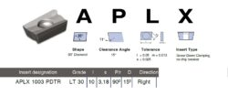 Destička APLX 1003 PDTR LT 30 LAMINA