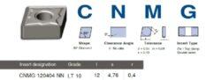 Destička CNMG 120404 NN LT 10 LAMINA