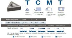 LAMINA Destička TCMT 16T308 NN LT 10