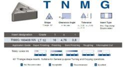 LAMINA Destička TNMG 160408 NN LT 10