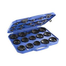 EXPERT E200201 Sada klíčů na olejová víčka-Sada hlavic na víčka olejových filtrů, 30dílná