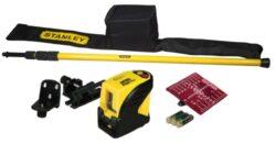 STANLEY 1-77-123 Laser křížový CLLi FatMax-CLLi automatický samonivelační křížový laser + rozpěrná tyč