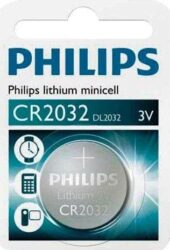 Baterie special CR2032 blistr 3V PHILIPS 100415 /6040.01 KINEX/