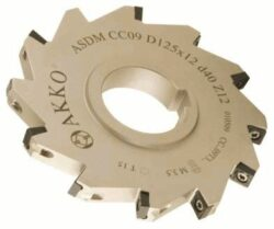 Fréza ASDM-CC06-D125x8-d40-Z14 AKKO-Nástrčná fréza kotoučová-drážkovací AKKO MAKINA typ ASDM-CC..0602.. pr. 125mm, b 8,