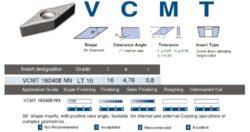 LAMINA Destička VCMT 160408 NN LT 10