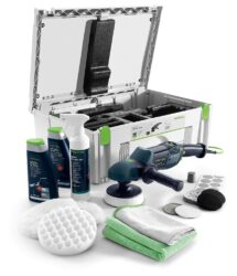 FESTOOL 570804 Leštička RAP 150 FE SET SHINEX - Rotační leštička SHINEX RAP 150 FE-Set Automotive