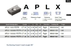 Destička APLX 100332 PDTR LT 30 LAMINA