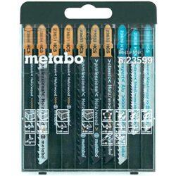 METABO 623599000 Sada pilových listů 10dílná-Sada pilových listů 10dílná použití dřevo.kov,plast