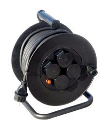 MAGG PB34 Kabel 50m na cívce 4zásuvky guma PI44 3x1,5mm-Kabel 50m na cívce 4zásuvky guma PI44 3x1,5mm