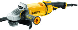 DEWALT DWE4579R-QS Bruska úhlová 230mm 2600W-Velká úhlová bruska 230 mm rychloupínání