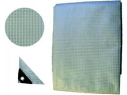 LOBSTER 102410 Plachta PVC čirá 2x3m 150gr