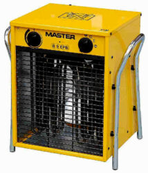 Topidlo elektrické s ventilátorem 4,8/9kW 400V MASTER B9EPB 22508-Elektrické topidlo s ventilátorem