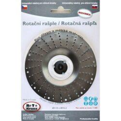 MAGG ROTO11525 Rotační rašple hrubá 115x22,2x2,5mm pro úhlové brusky-Rotační rašple hrubá 115x22,2x2,5mm pro úhlové brusky