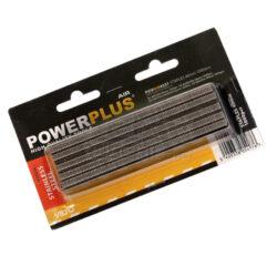 """POWER PLUS POWAIR0337 Spony 1000ks 40mm typ """"A"""" Nerez-Spony 1000ks 40mm typ A Nerez"""