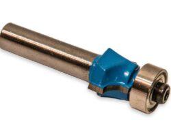 MAGG WJ009 Fréza stopková profilová s ložiskem R8 21x19mm S8mm-Fréza do dřeva - D=21, H=19, L=45,R=8, B=5, S=8mm