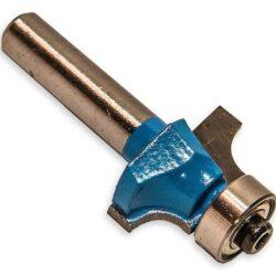 MAGG WJ010 Fréza stopková profilová s ložiskem R10 24x22mm S8mm-Fréza do dřeva - D=24, H=22, L=48,R=10, B=5, S=8mm