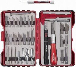 KREATOR KRT452002 Sada modelářských nožů 36ks-Sada modelářských nožů 36ks