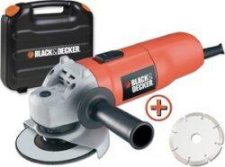 BLACK DECKER KG725DD-QS Bruska úhlová 125mm 700W-Položka SAFE s NETTO cenou.  Určeno pro velkoobchodní partnery.