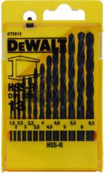 DeWALT DT5912 Sada vrtáků do kovu HSS-R DIN 388 19ks-Sada vrtáků do kovu HSS-R DIN 388 19ks