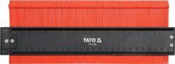 YATO YT-3736 Šablona na profily 260 mm magnetická-Šablona na profily 260 mm magnetická