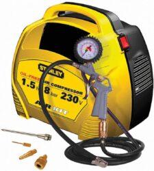STANLEY AIR KIT Kompresor bezolejový 8215190STN595-Kompresor bezolejový AIR KIT