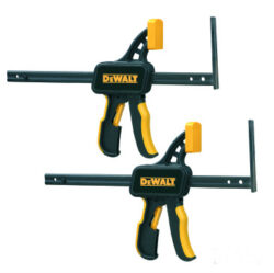 DEWALT DWS5026-XJ Svěrky pro vodící lištu                                       -Svěrky pro vodící lištu DEWALT