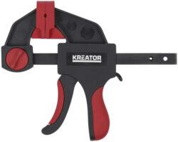 KREATOR KRT552201 Svěrka jednoruční GRIP 60x150mm-Svěrka jednoruční GRIP 60x150mm