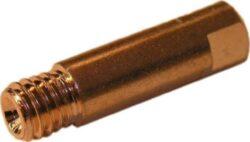 MAGG SVND-H02-3 Průvlak pro hořáky M6-0,8mm CO 3ks-Průvlak pro hořáky, závit M6 - 0,8 mm, 6x25 mm, Cu,3ks