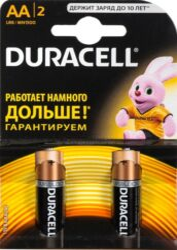 DURACELL LR6/2 AA Baterie ALKALINE Basic (2ks/bal)