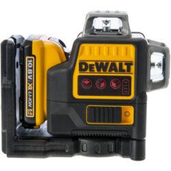 DEWALT DCE0811D1R-QW Aku laser linkový 10,8V 1x2,0Ah 2x červený paprsek         -2x paprsek - vertikální a horizontální