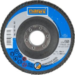 NAREX 65403787 Kotouč lamelový 115mm P60