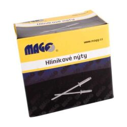 MAGG ALN40079 Nýty trhací hliníkové 4,0x7,9mm 1000ks/bal