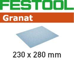 FESTOOL 201266  Brusný papír 230x280mm P400 GRANAT 10ks-Brusný papír 230x280mm P400 GRANAT 10ks