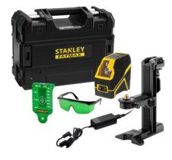 STANLEY FMHT77595-1 Laser křížový  FatMax zelený Li-Ion baterie-Laser křížový  FatMax zelený Li-Ion baterie