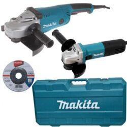 MAKITA DK0053G Set nářadí /GA9020+9558HNR/-Set nářadí /GA9020+9558HNR/