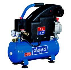 SCHEPPACH HC 08 Kompresor olejový 8L 1100W 1,5PS 155L/min 8bar-Kompresor olejový 8L 1100W 1,5PS 155L/min 8bar